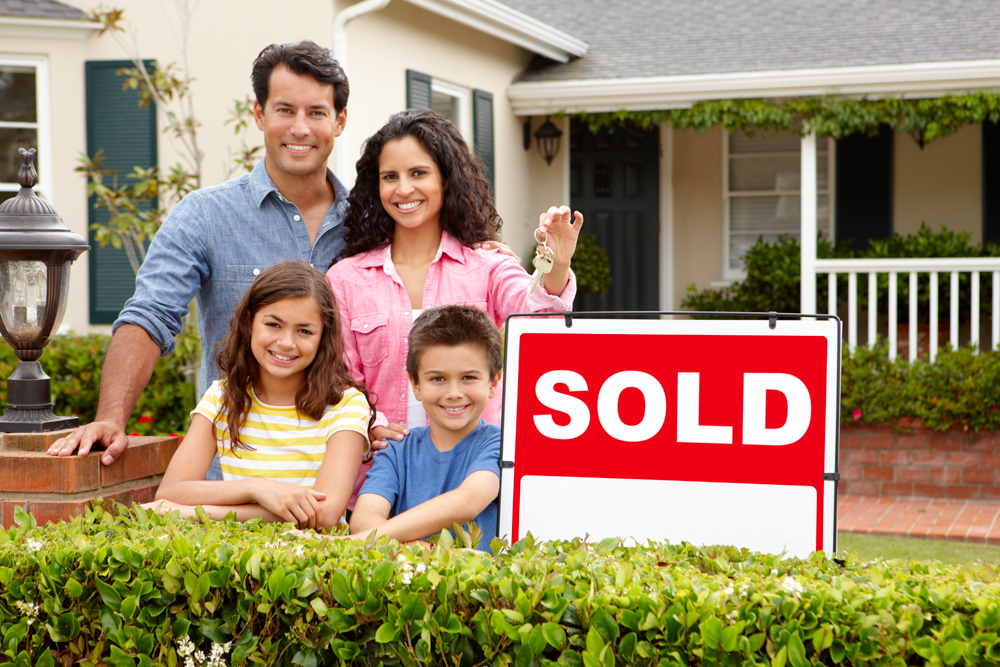 Family That Just Bought A New Home