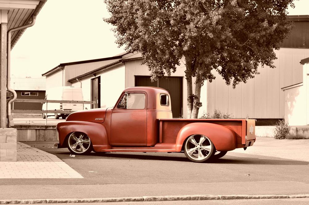 Custom Classic Chevy Truck