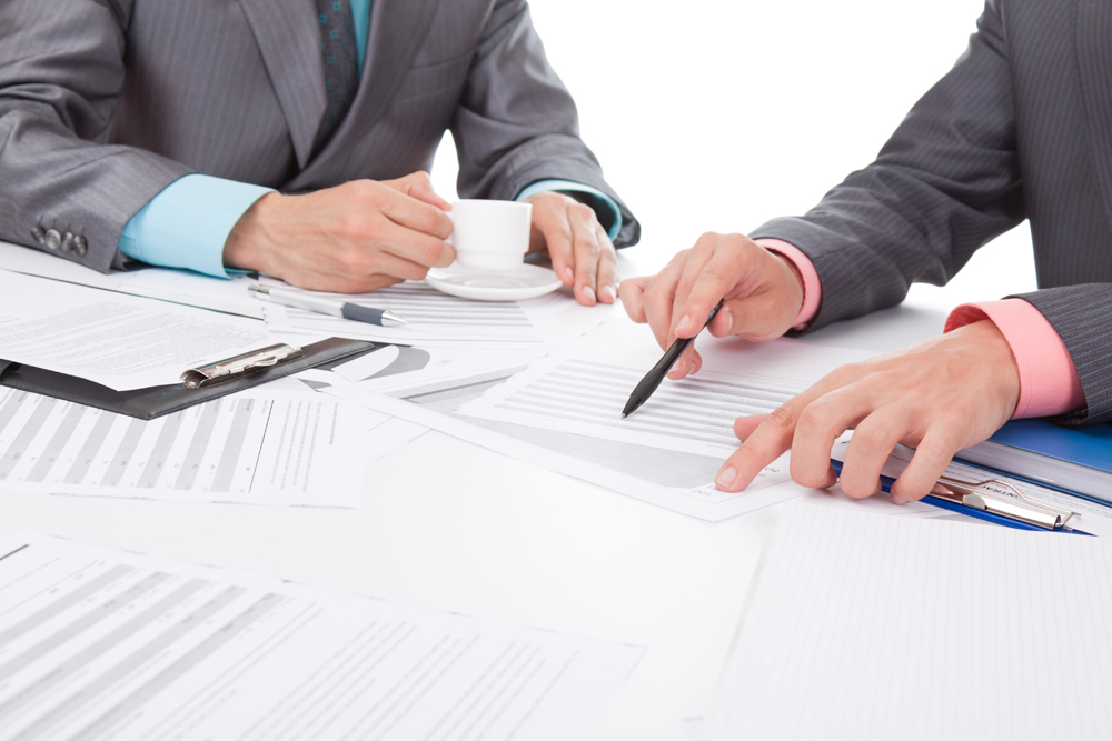 Business Attorney drafting documents