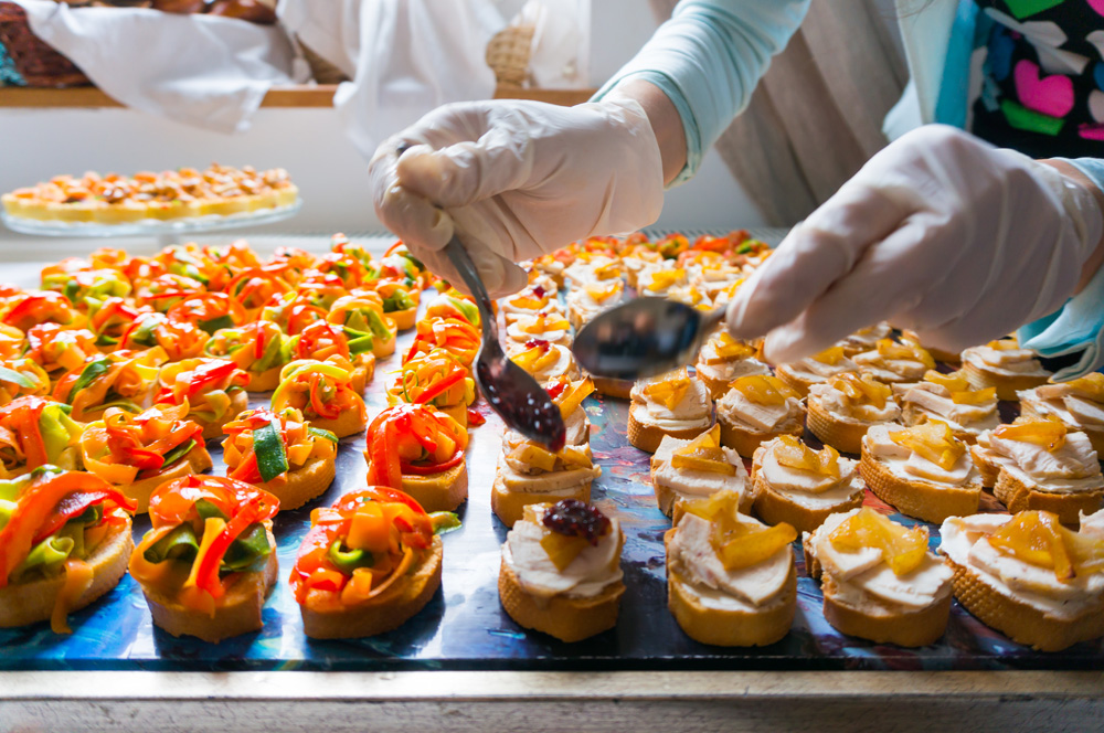 Caterer Preparing Appetizers - Hiring A Good Catering Company