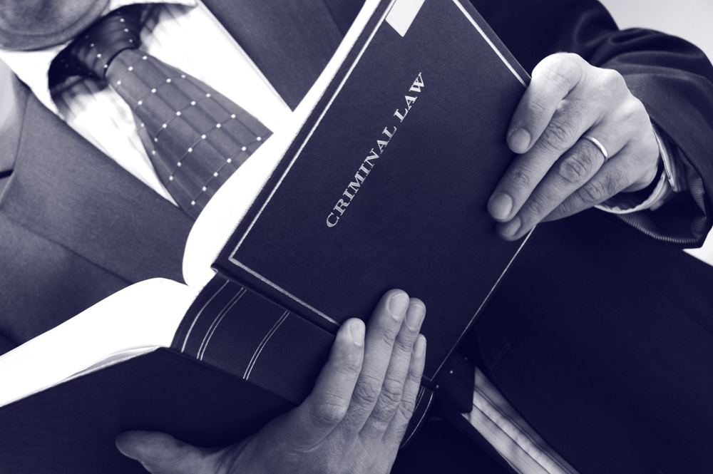 Springfield DWI attorney - criminal law book