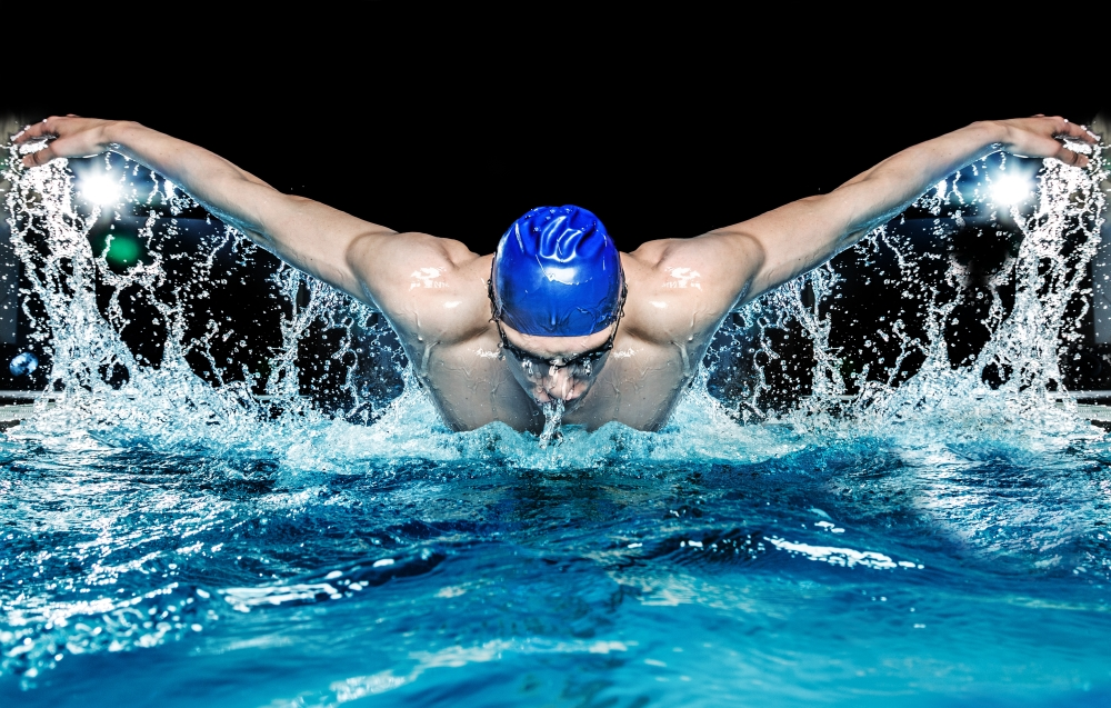 Swimming Athlete - Secrets To Athlete's Success: Hard Work and CBD