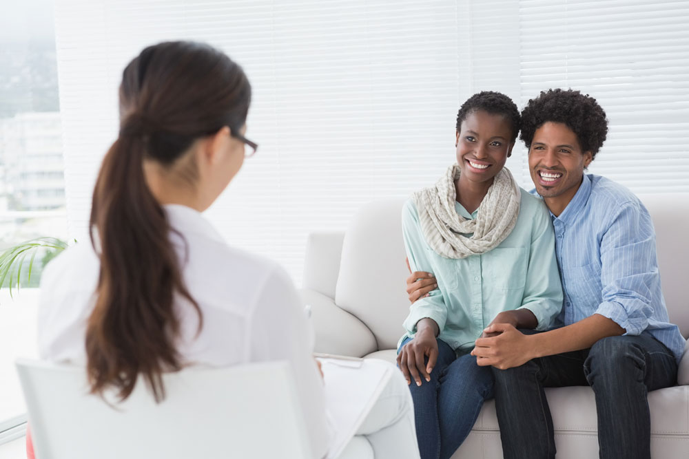 African American Couple In Marriage Therapy
