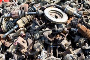 salvage yard auto parts