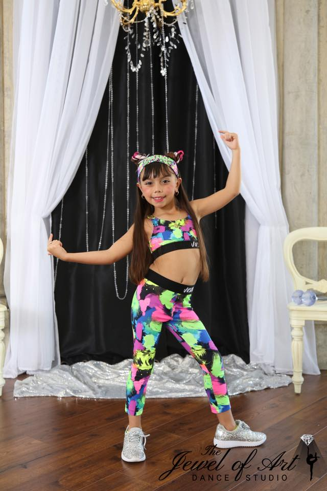 young Hip Hop dancer