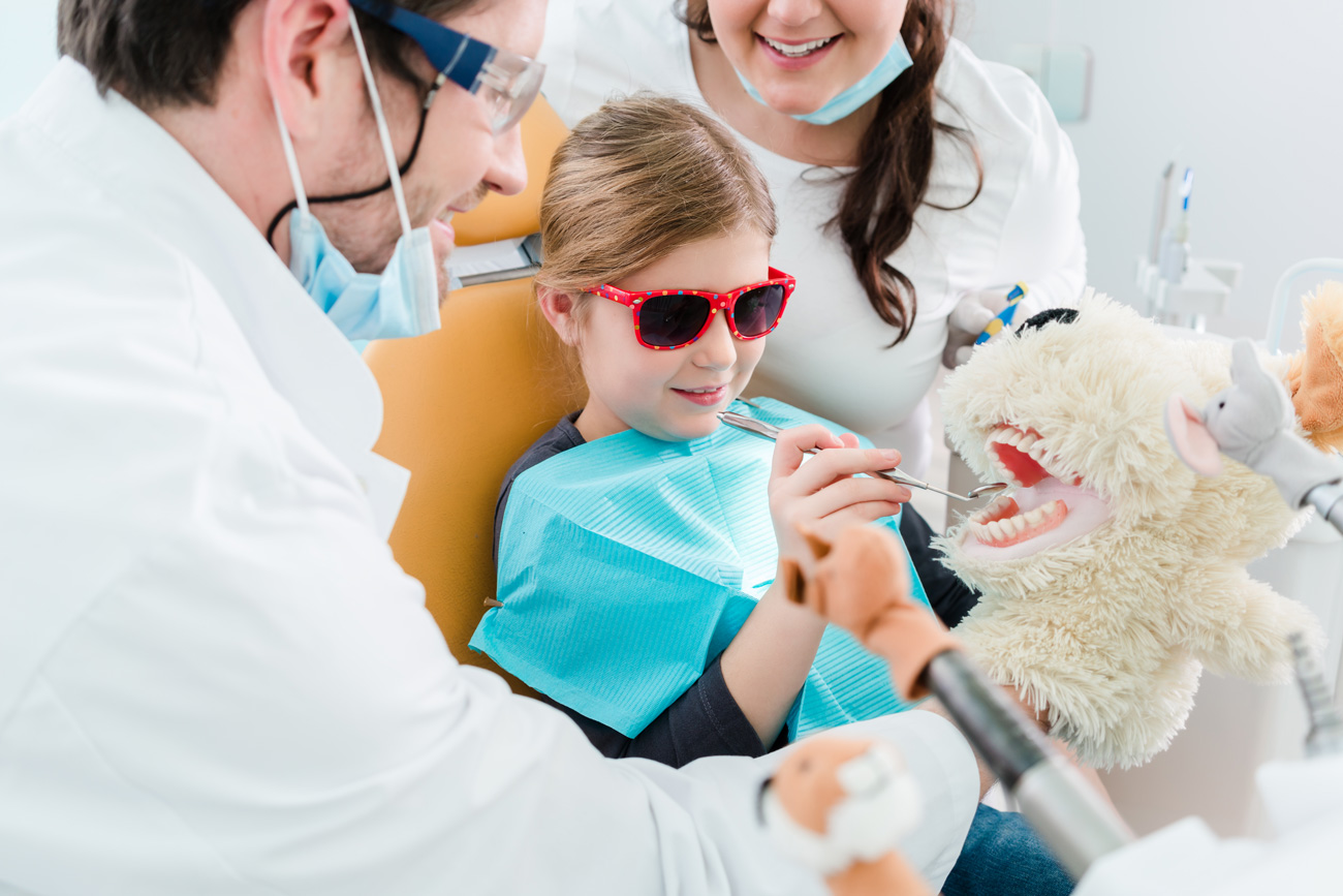 child at the dentist - Idaho Falls orthodontist