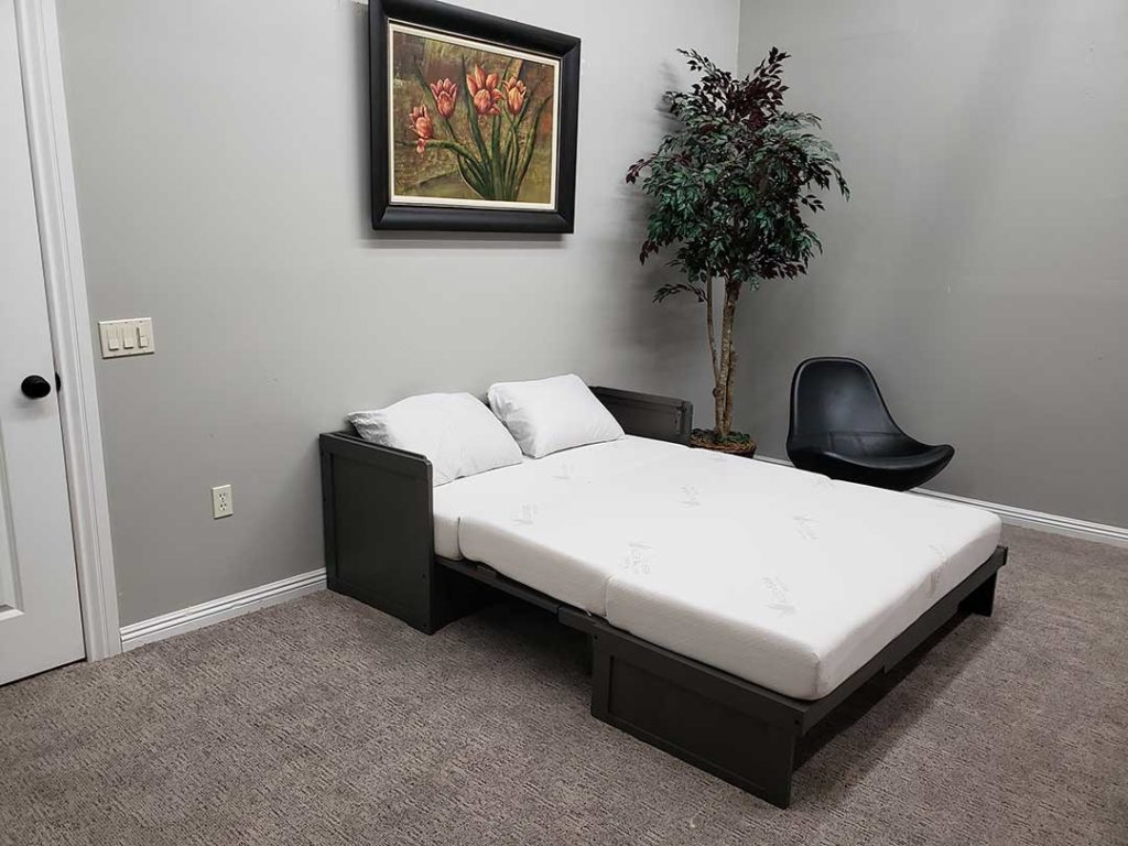 Cabinet Murphy Bed With Mattress