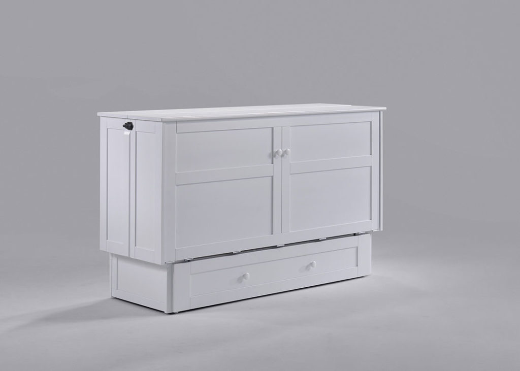 Cabinet Murphy Bed in closed position