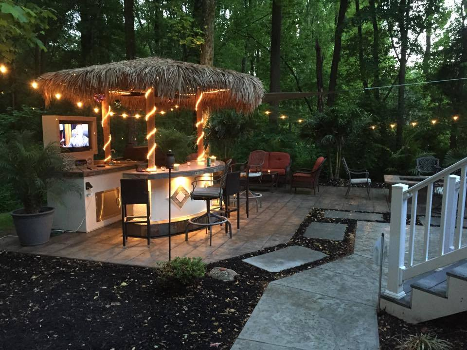 tiki hut outdoor kitchen - grill store Jacksonville, FL