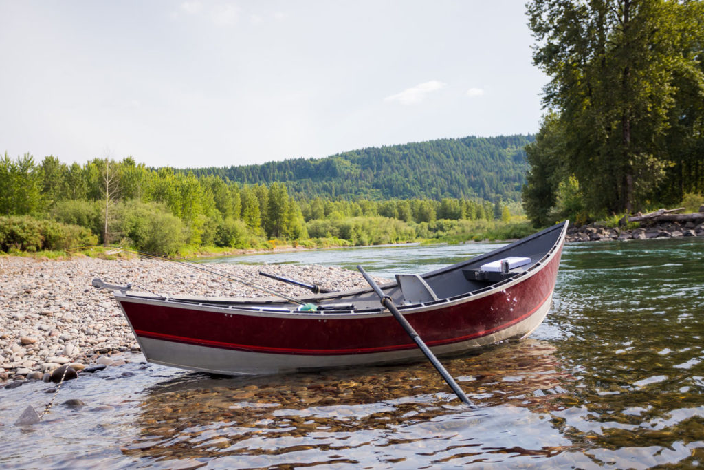 First Drift Boat