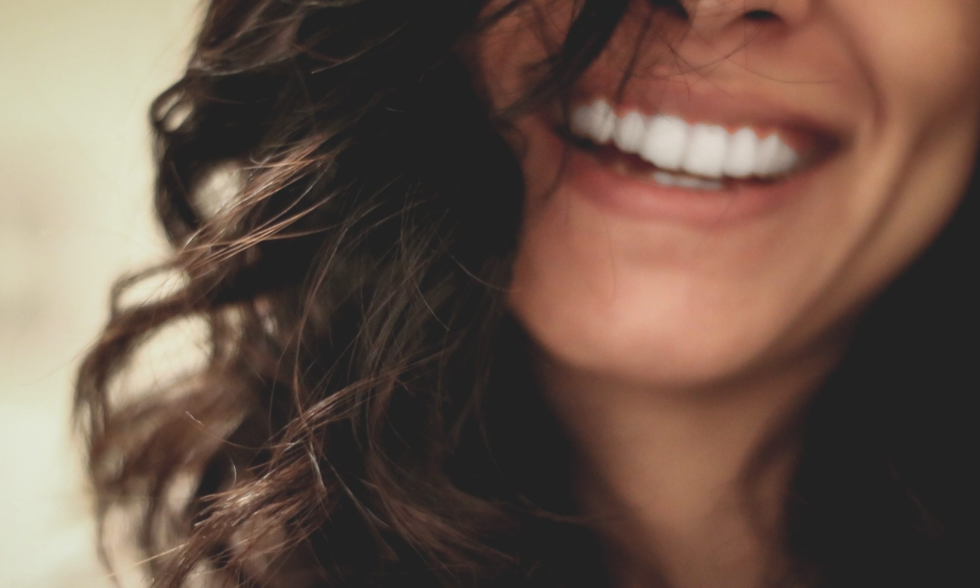 Woman smiling