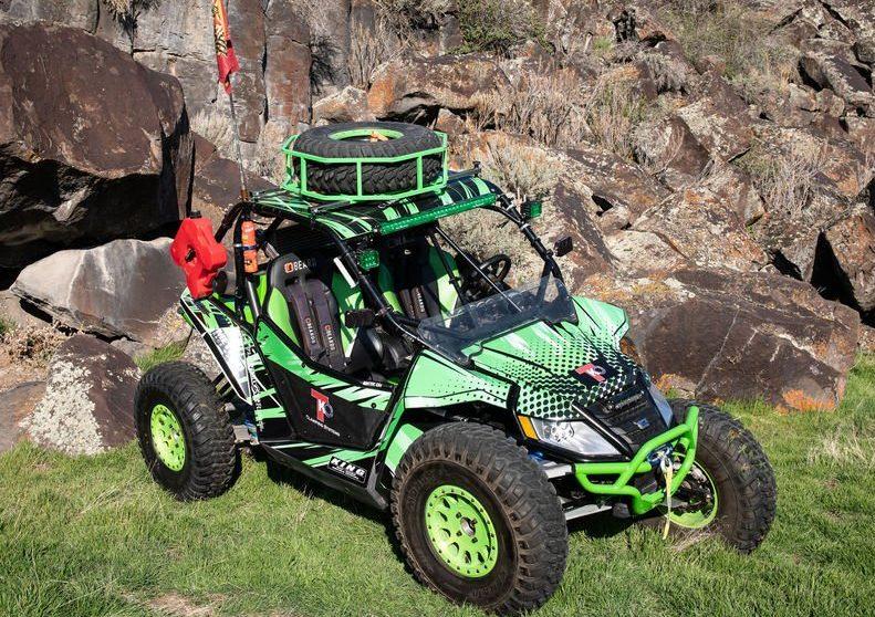 green dune buggy