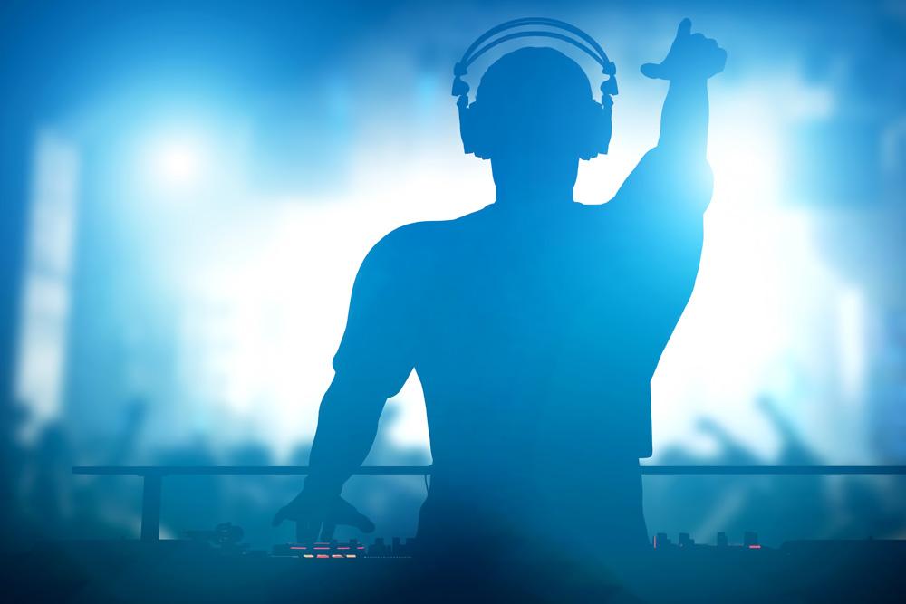 DJ Waving To Crowd