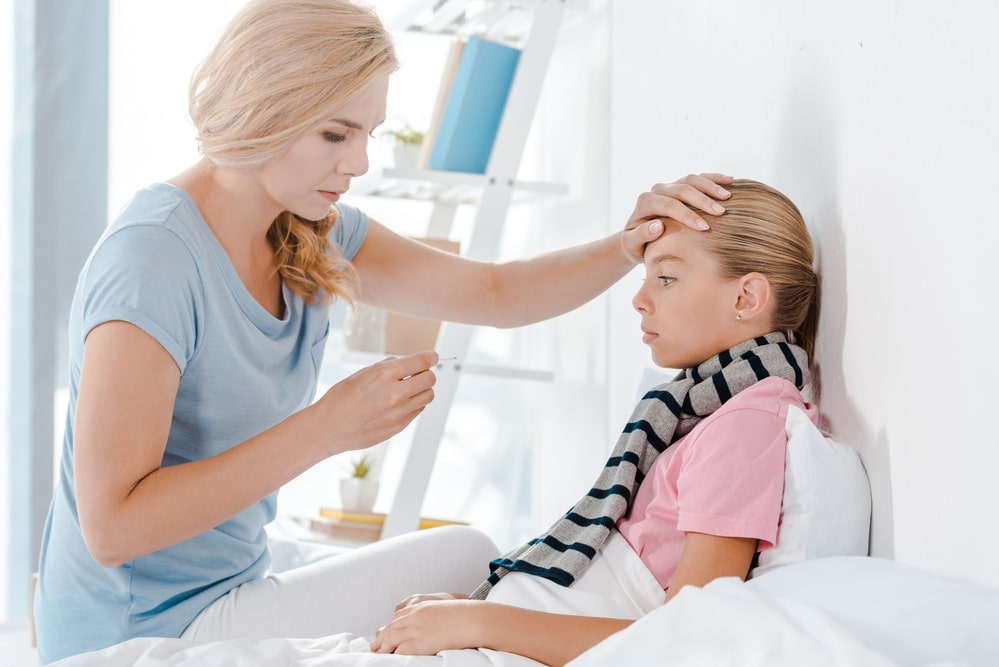 Mom And Sick Daughter need to visit Pocatello urgent care